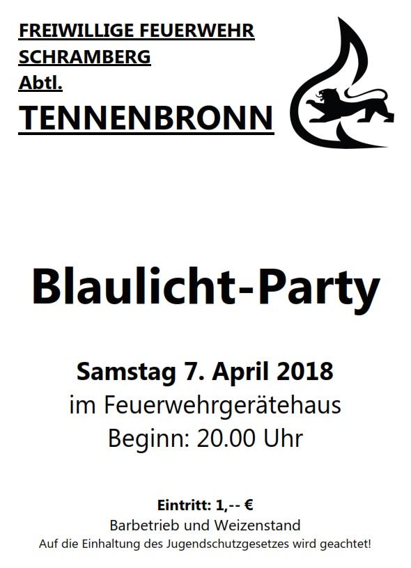 0928b3014ba857 Blaulicht-Party – PartySchramberg